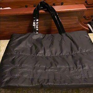 Calvin Klein soft tote bag